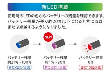 プルームテックの充電-LEDの点滅