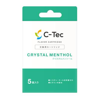 『C-Tec Duo(シーテックデュオ)』クリスタルメンソール