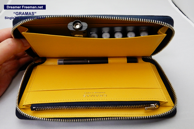『GRAMAS SingleZip Orgnizer Wallet』イメージ8