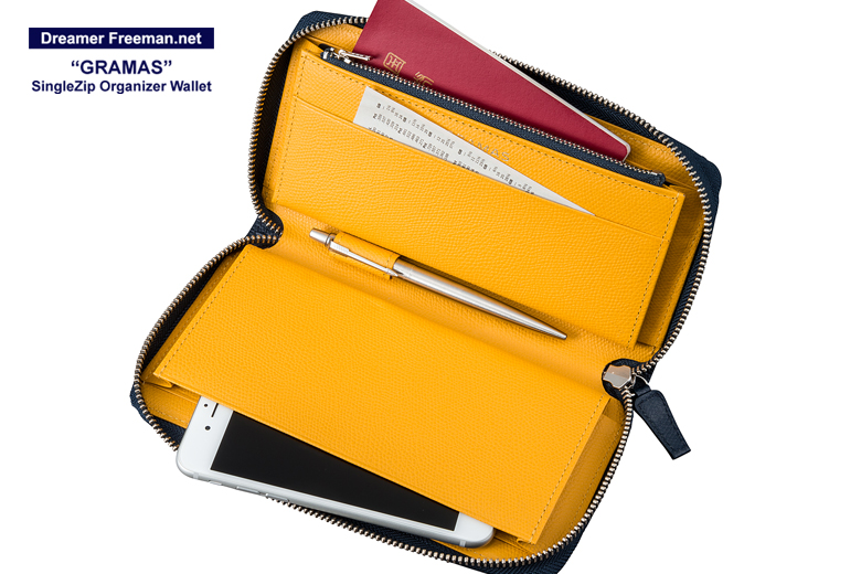 『GRAMAS SingleZip Orgnizer Wallet』イメージ9