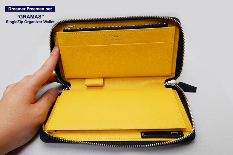 『GRAMAS SingleZip Orgnizer Wallet』イメージ1