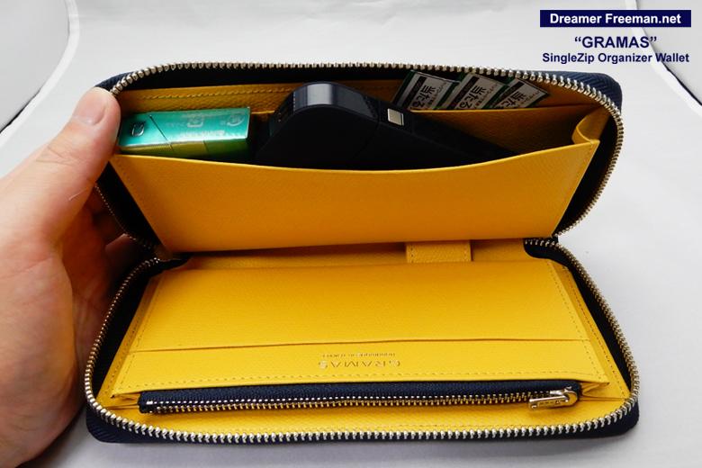 『GRAMAS SingleZip Orgnizer Wallet』イメージ3
