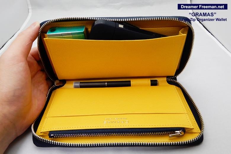 『GRAMAS SingleZip Orgnizer Wallet』イメージ5