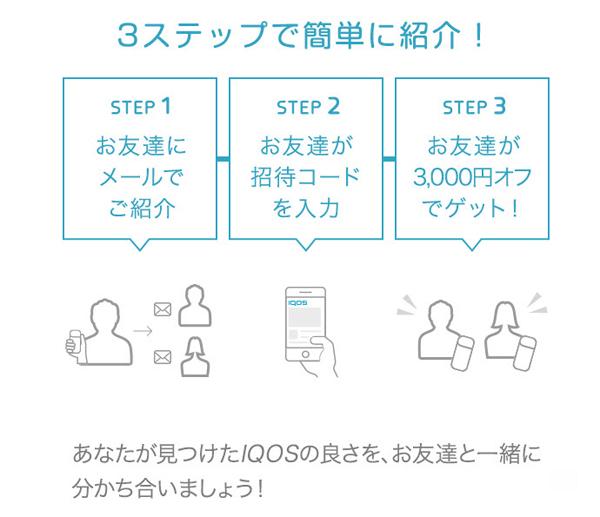 アイコス『お友達紹介キャンペーン』画像2