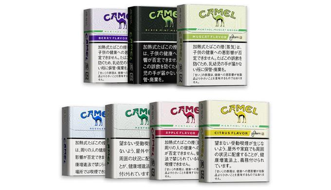 キャメル全7種類の味