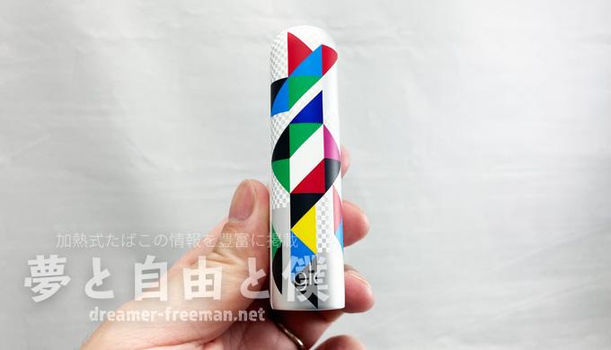 gloHyper+東京ユナイテッドエディションホワイト-デバイス側面