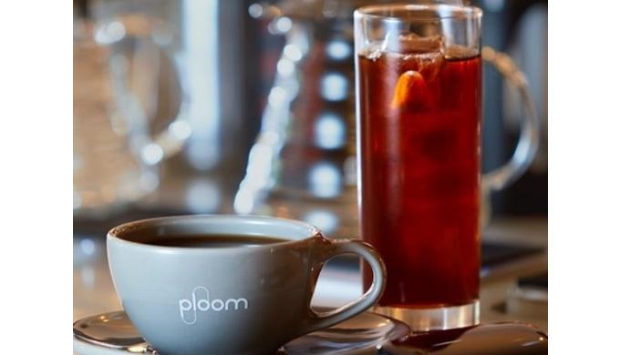 PloomX CLUBにて「ロイヤル」昇格時の特典-Ploom Shopにて無料ドリンクが1日3杯まで飲める